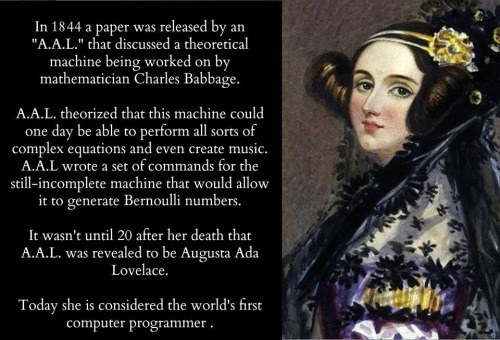 The love between Ada Lovelace and Lord Byron